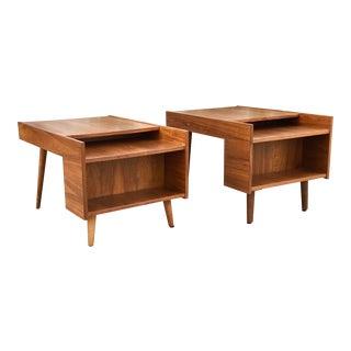 Vintage Milo Baughman Side Tables - A Pair