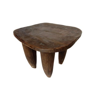 Cote d'Ivoire Carved Senufo Stool
