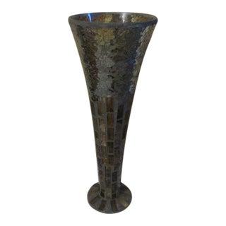 Brown Mosiac Vase