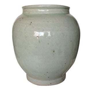 Donghia Mrs MacDougal Custom Made Celadon Vase