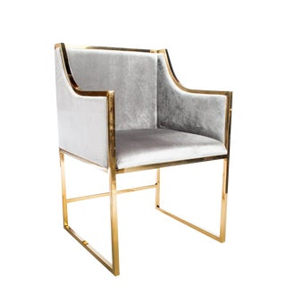 Erin Gold Dining Chair