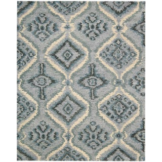 "Hand Knotted Montana 2 Denim Blue Rug - 5'5"" x 8'5"""