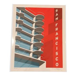Modern San Francisco Gliclee Print