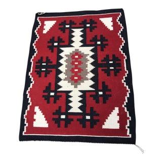 Navajo Wool Rug- 2′6″ × 3′4″