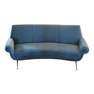 Curved Sofa by Gigi Radice for Minotti