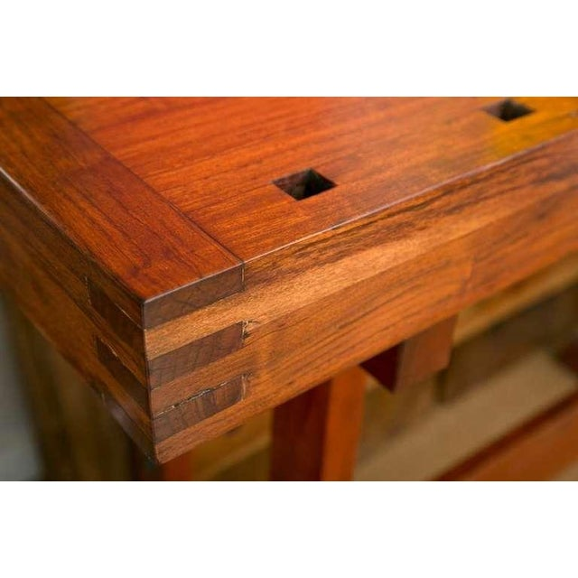 Rhodesian Teak Work Bench - Image 5 of 9