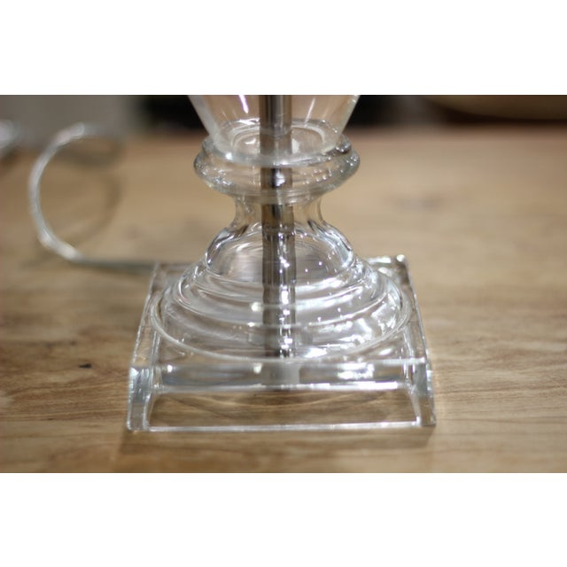 Image of Glass Urn Table Lamp