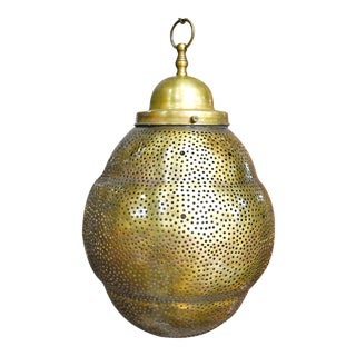 Lovely Moroccan Brass Fixture Pendant