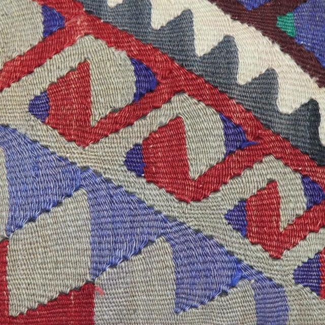 Turkish Handmade Kilim Pillow Cover - Image 3 of 5