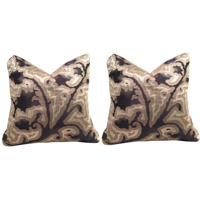 Sahco Bergamo Mida Pillows - A Pair - Image 1 of 4