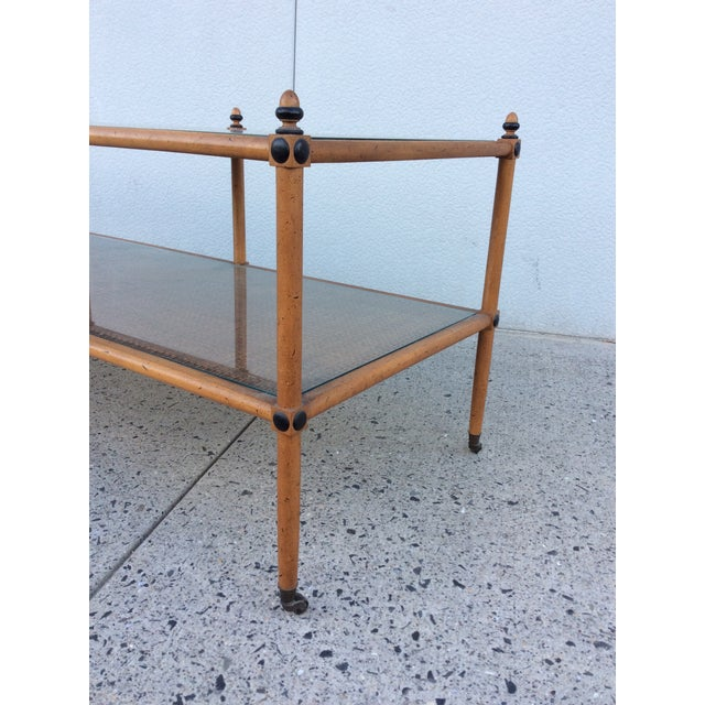 1960's Hollywood Regency Two Tiered Console - Image 4 of 11