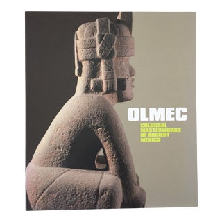 Olmec: Colossal Masterworks of Ancient Mexico Hardcover Book