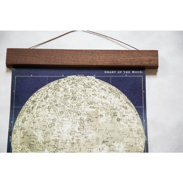 Antique Moon Chart Pull Down Revival Print - Image 2 of 5