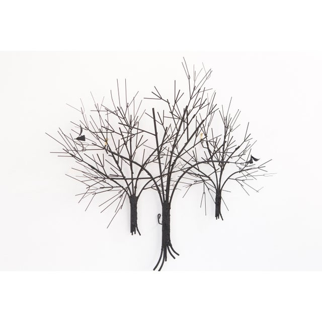 C. Jere Wall Sculpture 'Birds & Trees' - Image 2 of 8