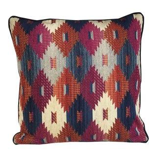 Kim Salmela Multi Color Aztec Print Pillow