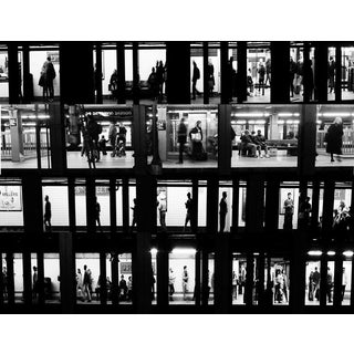 Subway Voyeur New York City Photograph