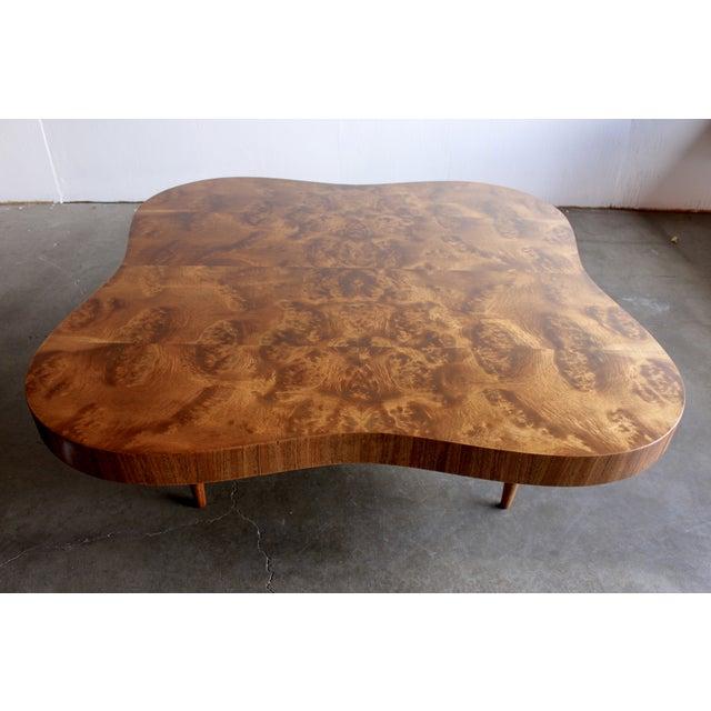 Gilbert Rohde Burl Surrealist 'Cloud' Coffee Table - Image 3 of 11