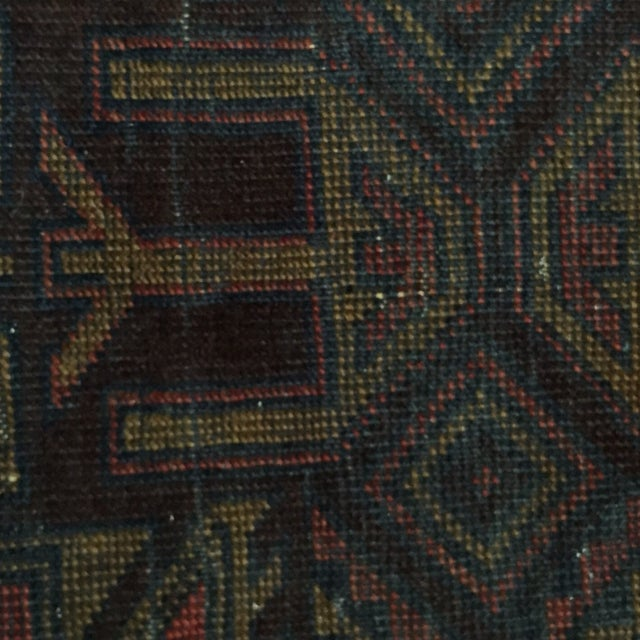 Balluchi Persian Rug - 2′7″ × 2′8″ - Image 6 of 7