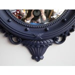 Image of Custom Painted Navy Convex Federal Mirror