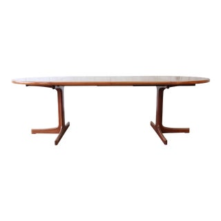 Swedish Modern Teak Extension Dining Table by Karl Erik Ekselius for J.O. Carlsson