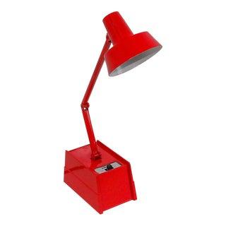 Mobilite Apple Red Vintage Adjustable Table Lamp