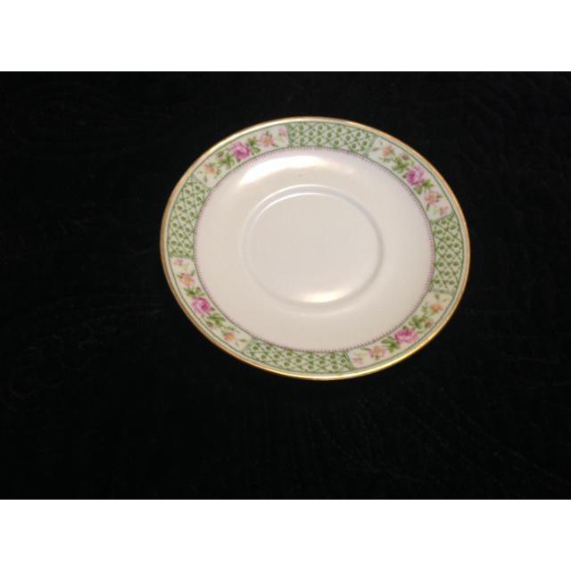 Image of Vintage C. Ahrenfeldt Limoges France Depose Saucer