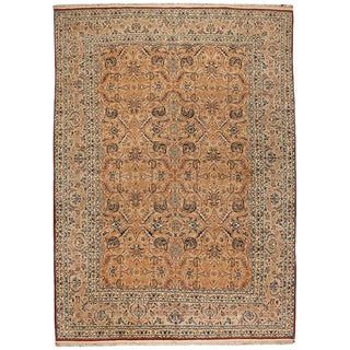 Exceptional Fine Persian Nain Carpet