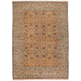 Exceptional Fine Persian Nain Carpet