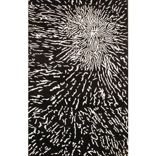 "Contemporary Tibetan Rug - 5'2"" X 8'"