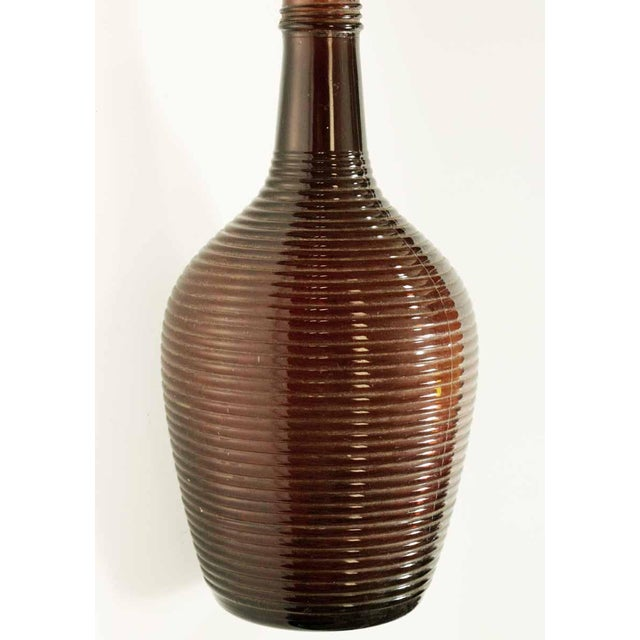 Mdina Glass Christmas Decorations: Burgundy Glass Vase