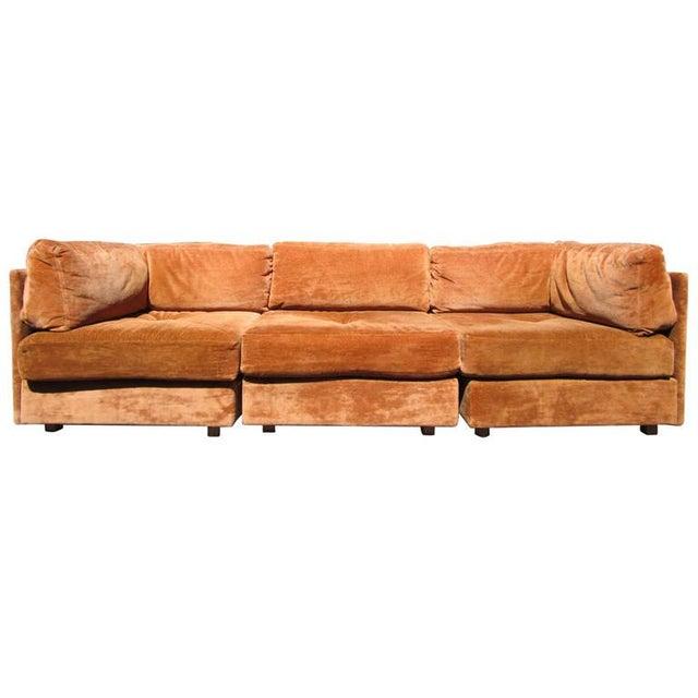 Milo BaughmaThree-Piece Modular Sectional Sofa