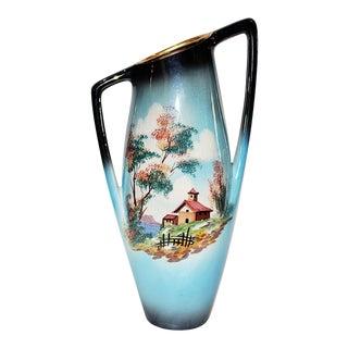 Italian Mid-Century Iridescent Vase
