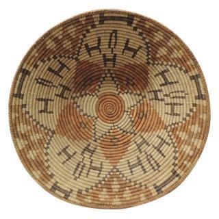 Vintage Monumental Southwestern Round Basket