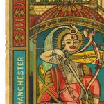 Image of Antique Indian Trade Label Archival Print