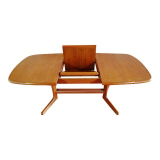 Danish Modern Teak Butterfly Dining Table