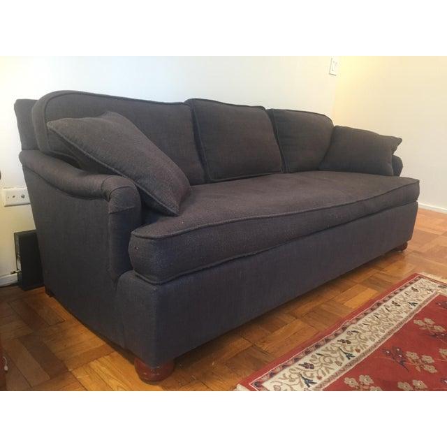 Mid Century Modern Down Filled Sofa Chairish