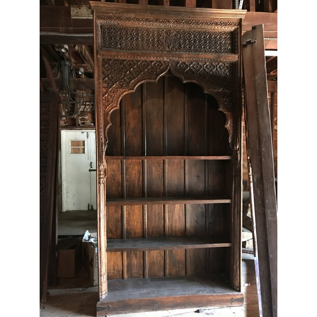 Large Indian Carved Palace Shelves - Image 2 of 5