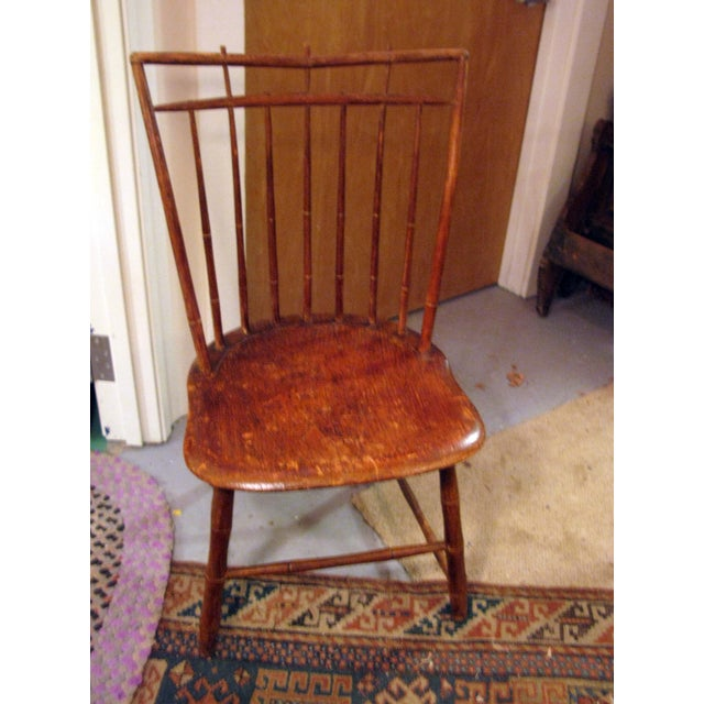 Antique Signed Samuel Gragg Windsor Chair - Image 2 of 11