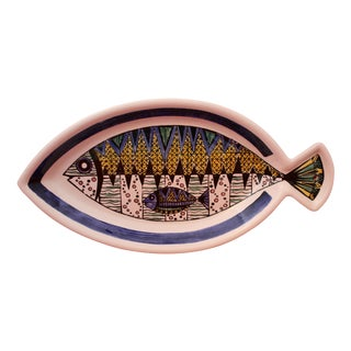 Jie Gantofta Swedish Pottery Fish Platter