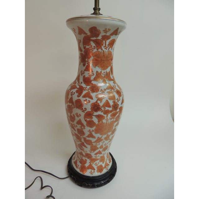 Imari Floral Porcelain Tall Table Lamp - Image 7 of 7