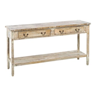 Pimlico 2-Drawer Oak Console
