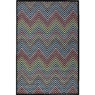 Chevron Rainbow Rug - 5'3'' x 7'7''
