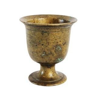 Vintage Bronze Handmade Cup