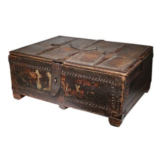 19th C. Indian Document Box