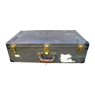 Antique Black Suitcase