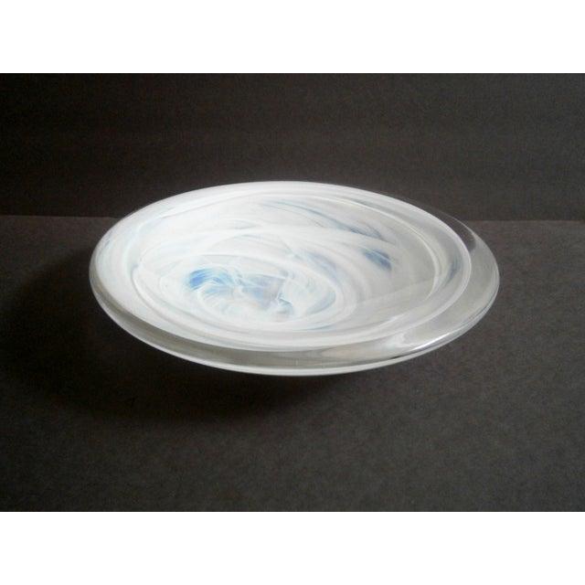 Image of Kosta Boda Atoll Glass Centerpiece Bowl