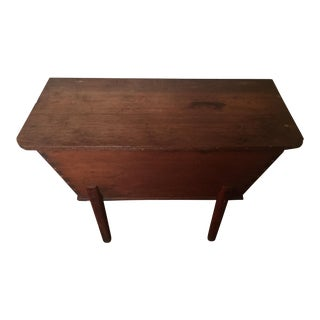 Vintage Pine Dough Chest