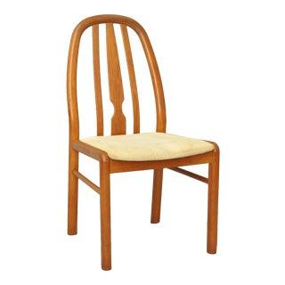 Vintage Uldum Mobelfabrik Teak Mid Century Danish Modern Dining Side Desk Chair A