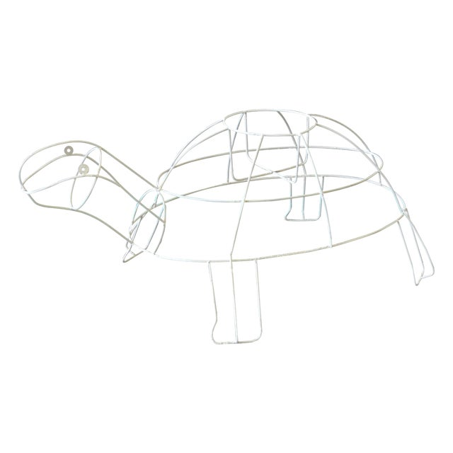 Monumental Outdoor Wire Turtle Planter - Image 1 of 4