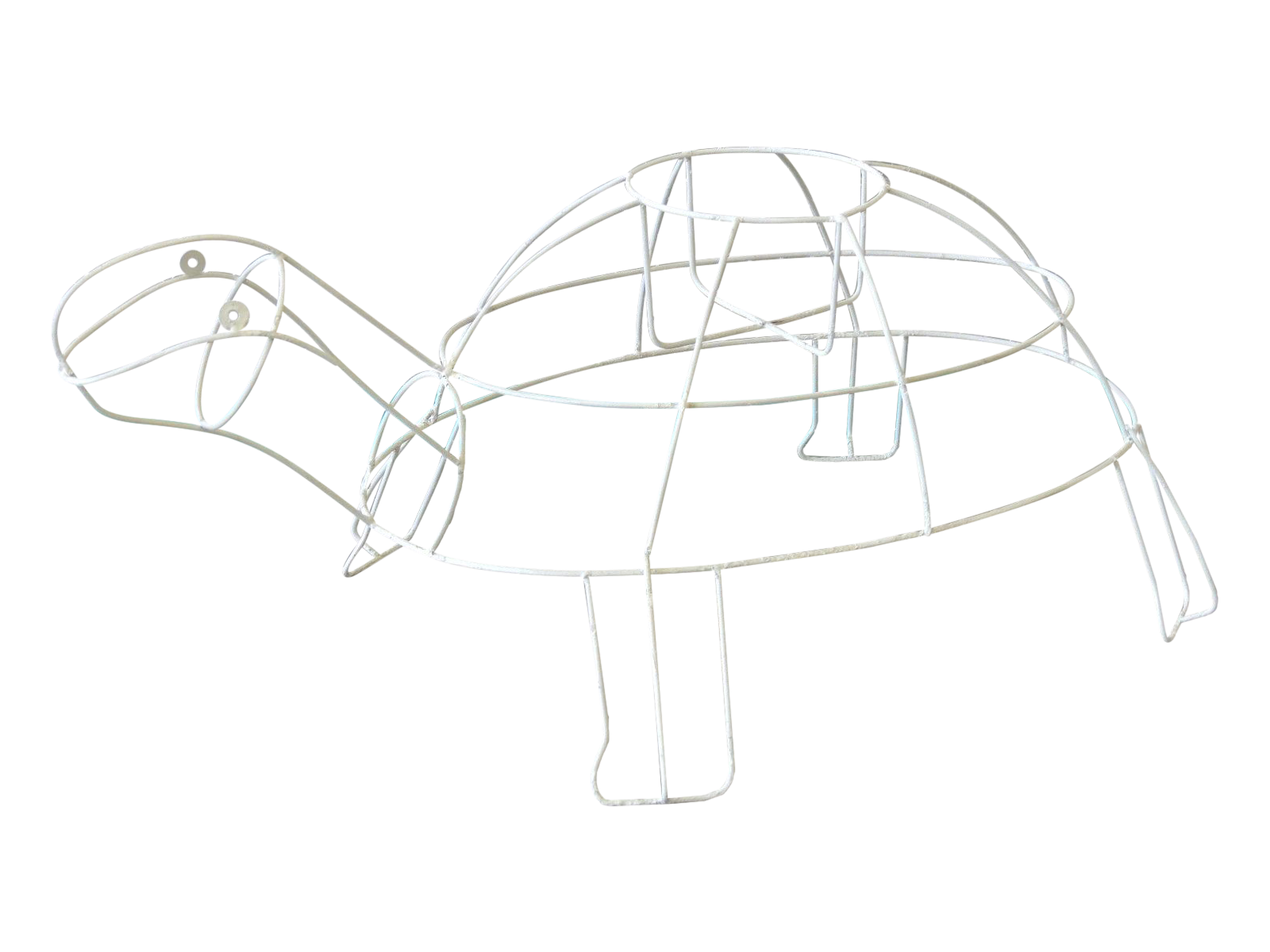 monumental outdoor wire turtle planter